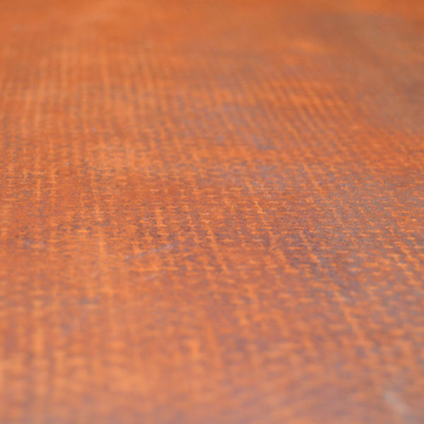 Rusty metal finishes